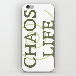 ChaosLife: The Print iPhone Skin