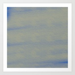 Chalky background - blue and gray Art Print