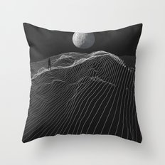 Equal Night Throw Pillow