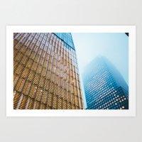 One World Trade Center - Foggy Night Art Print