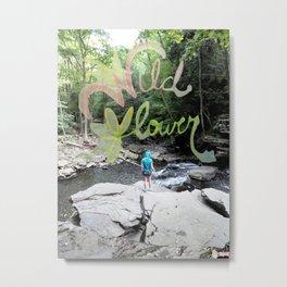 Wildflower Creek Metal Print