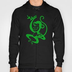 Green Monkey Hoody