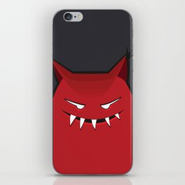 Evil Monster With Pointy Ears iPhone Skin
