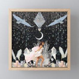 White Witch Framed Mini Art Print