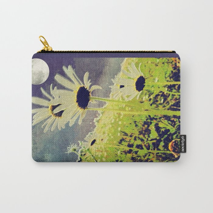 As the Daisies Greet the Evening Sky Carry-All Pouch