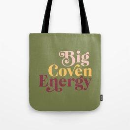 Bi Coven Energy Olive Tote Bag
