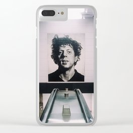 Mystery Man Clear iPhone Case