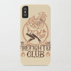 Firefighter Club iPhone X Slim Case
