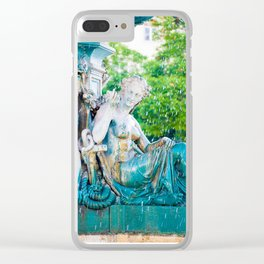 Fountin of Love Clear iPhone Case