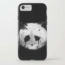 Crouching Panda Hidden Somewhere iPhone Case