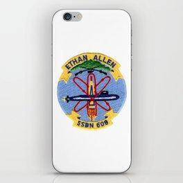 USS ETHAN ALLEN (SSBN-608) PATCH iPhone Skin