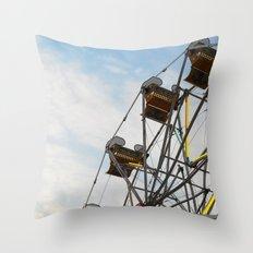 Carnival 3 Throw Pillow