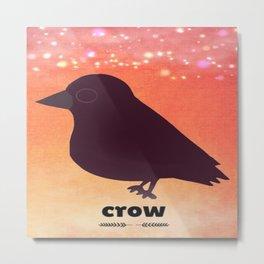 crow-60 Metal Print
