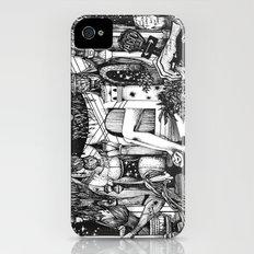 Alice in Wonderland Slim Case iPhone (4, 4s)