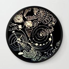 Black Book Series - Endless 01 Wall Clock