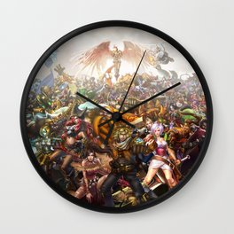 Full League Wall Clock