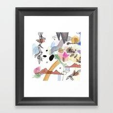 New Year Framed Art Print