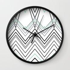 Mint Chevy  Wall Clock