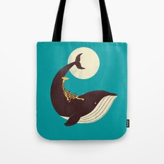 The Giraffe & the Whale Tote Bag