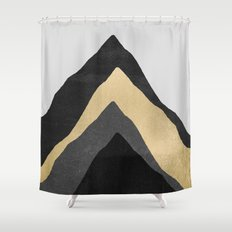 Four Mountains Shower Curtain