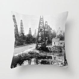 Los Angeles, Toluca Street, ca.1895-1901 Throw Pillow