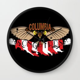 Columbia Songbirds Wall Clock
