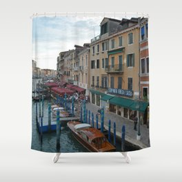 Venice is Sacred Shower Curtain