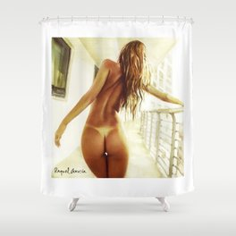 Back Shower Curtain