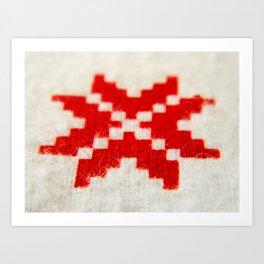 Geometrical Shape Art Print