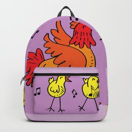 Chick Sing a Song Backpack
