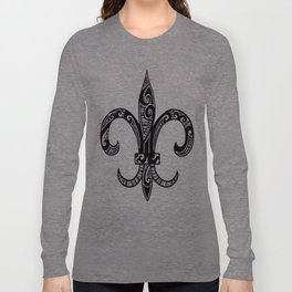 Fleur Di Lis  Long Sleeve T-shirt