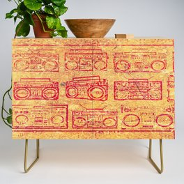 My Beat Goes Credenza