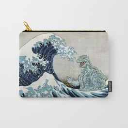 Godzilla Off Kanagawa Carry-All Pouch