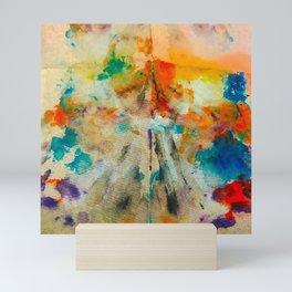 Watercolor Blot Mini Art Print