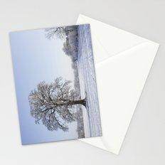 Snowy Oak. Stationery Cards