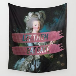 let them eat cake Wall Tapestry
