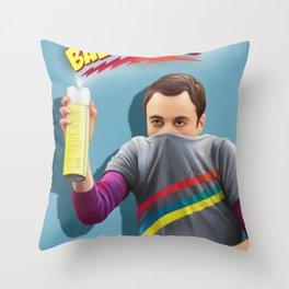 Sheldon  - BAZINGA! Throw Pillow