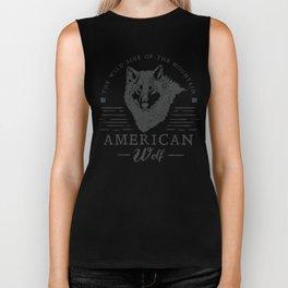 American Wolf Biker Tank