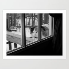 I'd like to come in now... Art Print