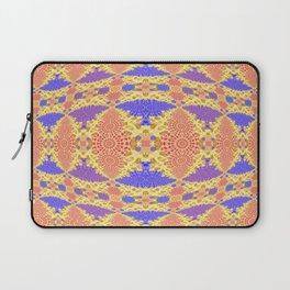 Autumn Micro Fractal Geometric Laptop Sleeve