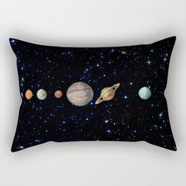 Planetary Solar System Rectangular Pillow