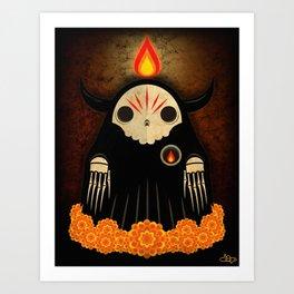 Cempaxochitl Spirit Art Print