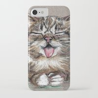 lil bub iPhone & iPod Cases featuring Cat *Lil Bub*  by Pendientera