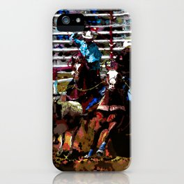 Team Ropers iPhone Case