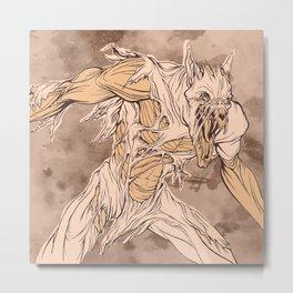 Wearwolf Metal Print