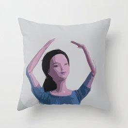 Graceful Throw Pillow