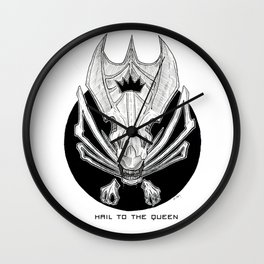 Hail to the Queen Wall Clock