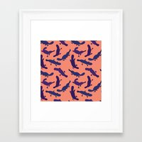platypus Framed Art Prints featuring Platypus by Taylor Stone