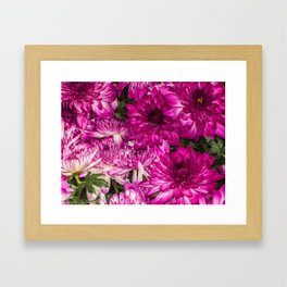 The Momma Flowers Taking Care Of Babies Framed Art Print
