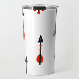 boho arrows Travel Mug